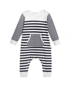 Absorba Baby Boy's Striped Babygrow