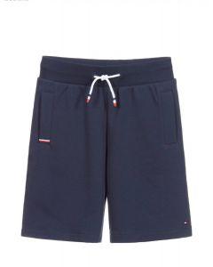 Tommy Hilfiger Blue Organic Cotton Shorts