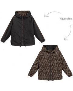 Fendi Reversible FF Logo Jacket