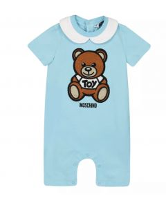 Moschino Baby Blue Teddy Shortie