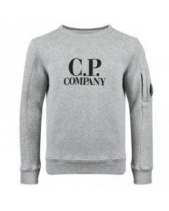 C.P. Company Boys Grey Lens Sweatshirt