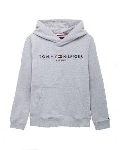 Tommy Hilfiger Grey Organic Cotton Hoodie