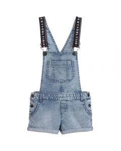 DKNY Girls Dungaree Shorts