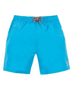 Paul Smith Junior Blue Dinosaur Swim Shorts