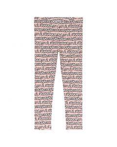 FENDI Adore Pink & White Cotton Leggings