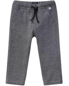Il Gufo Warm Herringbone Cotton Trousers