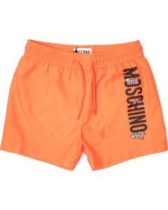 Moschino Kid-Teen Boys Orange Swim Shorts