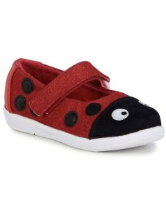 EMU Australia Ladybug Kids Canvas Shoes