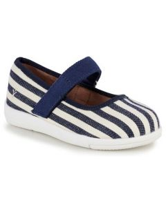 EMU Australia Navy Striped Deena Canvas Shoes
