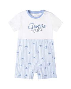 Guess Baby Boys Blue Stork Cotton Shortie