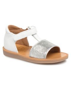 Pom D'Api White Poppy Tao Sandals