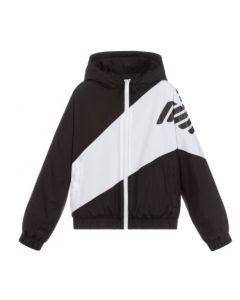 Emporio Armani Boys Black & White Jacket