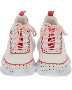 Monnalisa White & Pink Sport Trainers