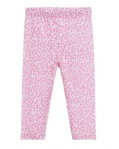 Monnalisa Pink Animal Print Leggings