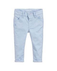 Mitch & Son Boys Pale Blue Cotton Trousers