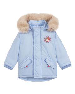 Mitch & Son Boys Pale Blue Parka Coat