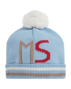 Mitch & Son Boys Pale Blue Knitted Hat