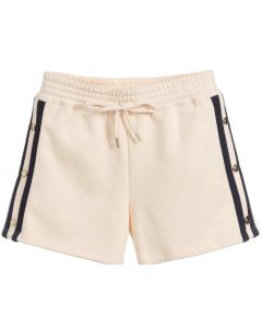 Chloé Girls Pink and Blue Cotton Shorts