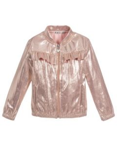Everything Must Change Pink Faux Leather Jacket