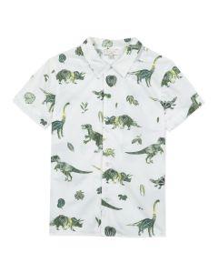 Paul Smith Junior Boys White 'Andio'Cotton Shirt
