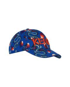 Kenzo Kids Blue Dragon Cap