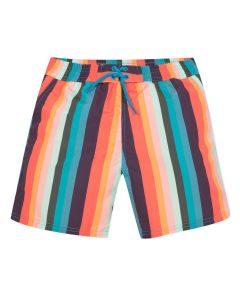 Paul Smith Junior Colourful Striped 'Avento' Swim Shorts