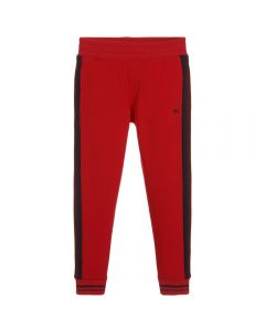 LITTLE MARC JACOBS Boy's Red Jersey Joggers