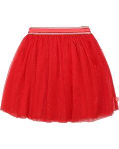 Billieblush Girls Red Tulle Skirt