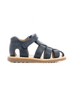 Pom D'Api Boy's Navy Waff Sandal