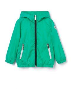 Il Gufo Emerald Green Windbreaker Jacket
