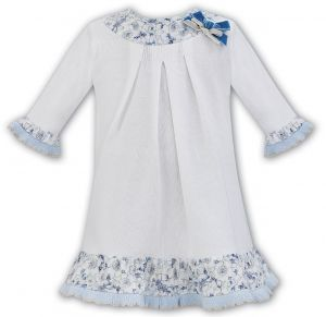 Sarah Louise Girl's Ivory and Floral Dress