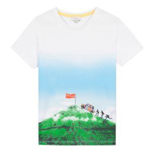 Paul Smith Junior Boys White 'Abelio' Cotton T-Shirt