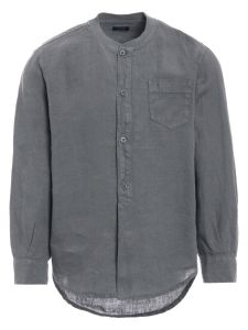IL Gufo Boy's Grey Linen Shirt