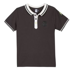 3Pommes Grey Polo Shirt