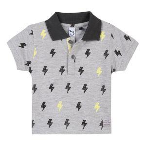 3Pommes Boy's Grey Polo Shirt
