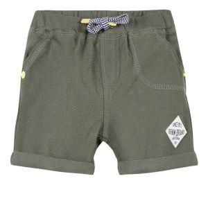3Pommes Khaki Green Jersey Shorts