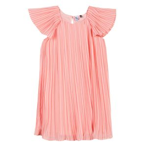 3Pommes Girl's Pink Chiffon Dress
