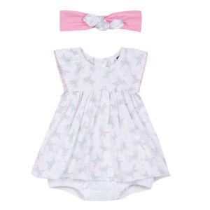 3Pommes Baby Girl's Unicorn Dress