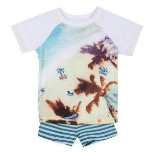3Pommes Boy's Beach Sun Protective Outfit (UPF 40+)