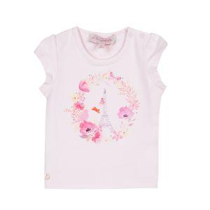 Lilli Gaufrette Girl's Pink Paris T-Shirt