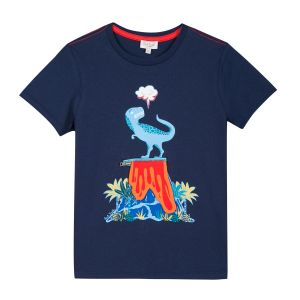 Paul Smith Junior 'Rimini' Dinosaur Navy T-Shirt