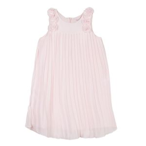 Lili Gaufrette Girl's Pale Pink Chiffon Dress