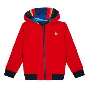 Paul Smith Junior Boy's Striped Reversible 'Regent' Jacket