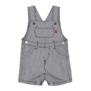 Absorba Baby Boy's Navy and White Striped Dungarees