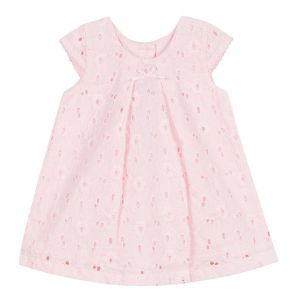 Absorba Baby Girl's Pink Broiderie Anglaise Dress