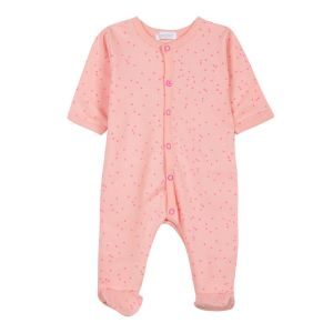 Absorba Baby Girl's Peach Babygrow