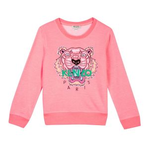 Kenzo Kids Neon Pink Tiger Sweatshirt