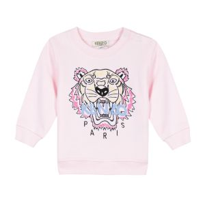 Kenzo Kids Girl's Pink Tiger Sweatshirt