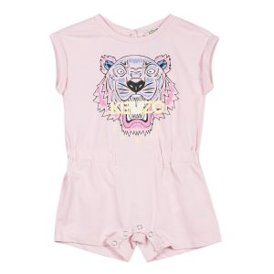 Kenzo Kids Girl's Pink Tiger Playsuit