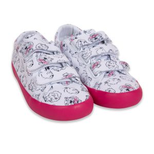 Kenzo Kids Girl's White and Pink Trainers
